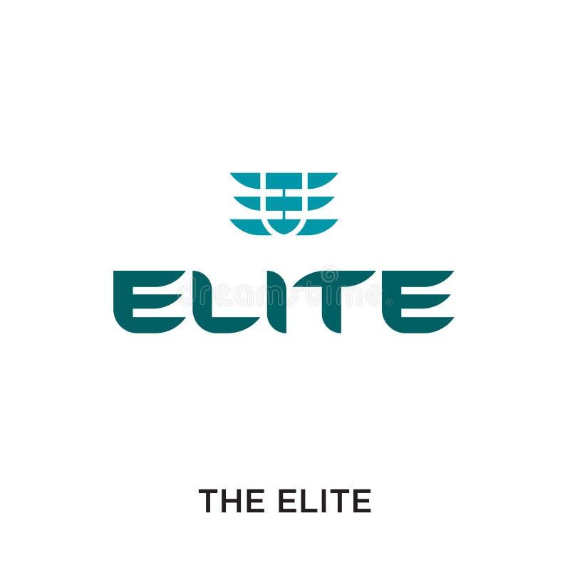 el logotipo de la élite aislado en el fondo blanco para su web, móvil libre illustration