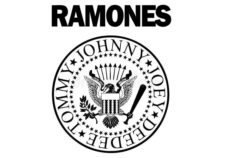 El logotipo de Ramones libre illustration