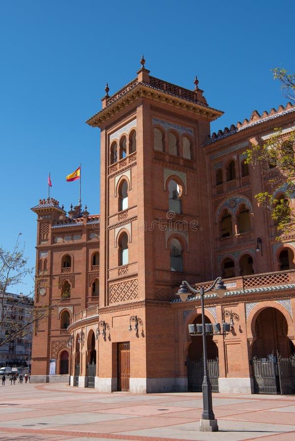 El luchar de Bull Colosseum Madrid España fotografía de archivo