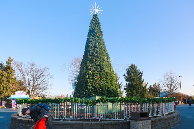 El lugar del sésamo es un parque temático de los niños, situado en las cercanías de Philadelphia fotografía de archivo libre de regalías