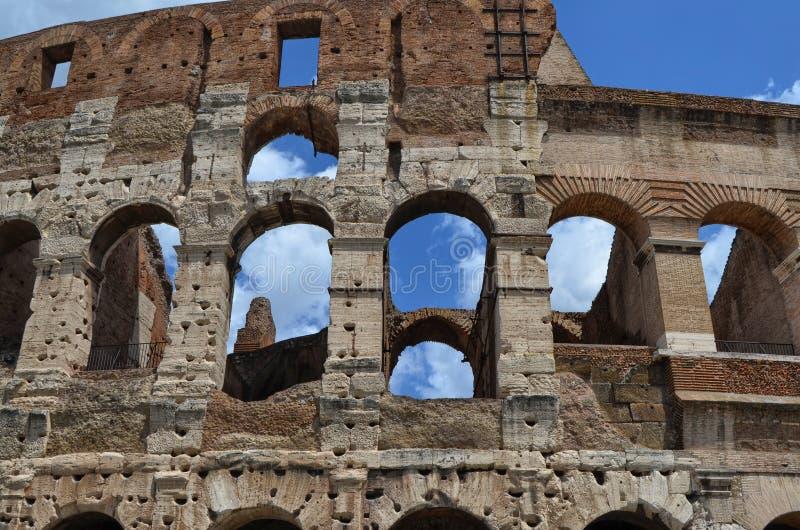 El lugar famoso de Colosseum imagen de archivo libre de regalías