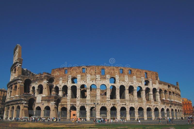 El lugar famoso de Colosseum imagen de archivo