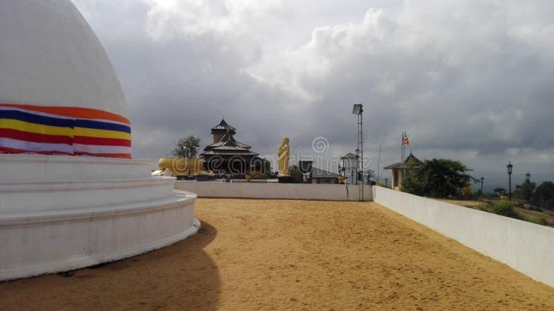 El mahameuna del nombre del templo en Sri Lanka imágenes de archivo libres de regalías
