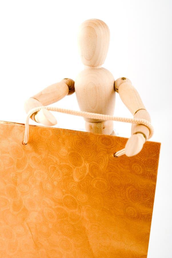 Download El Maniquí Va A Hacer Compras Imagen de archivo - Imagen de mercancía, lleve: 7280545