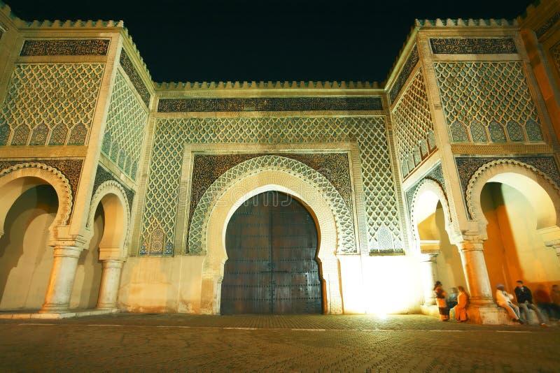 EL Mansour de Bab fotografia de stock royalty free