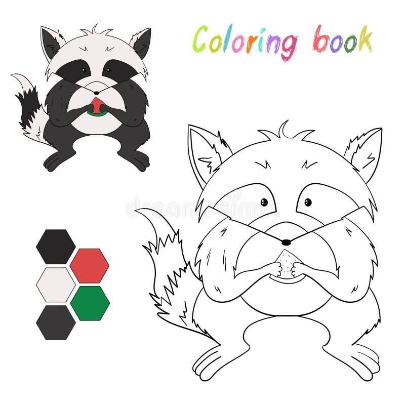 Atractivo Mapache Realista Para Colorear Inspiración - Dibujos Para ...