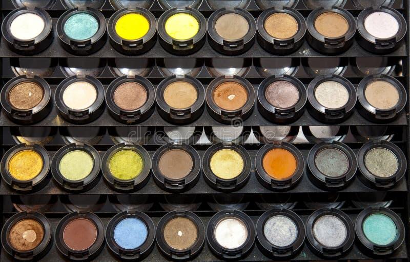 El maquillaje se ruboriza colección imágenes de archivo libres de regalías
