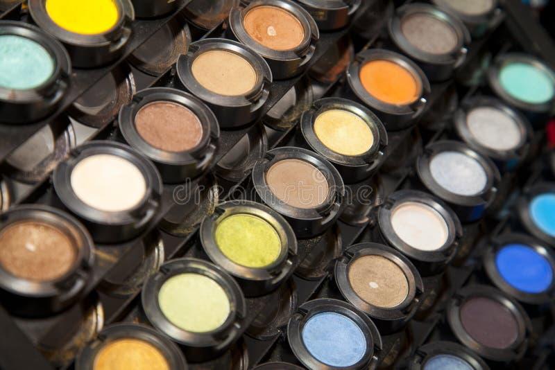 El maquillaje se ruboriza colección fotos de archivo