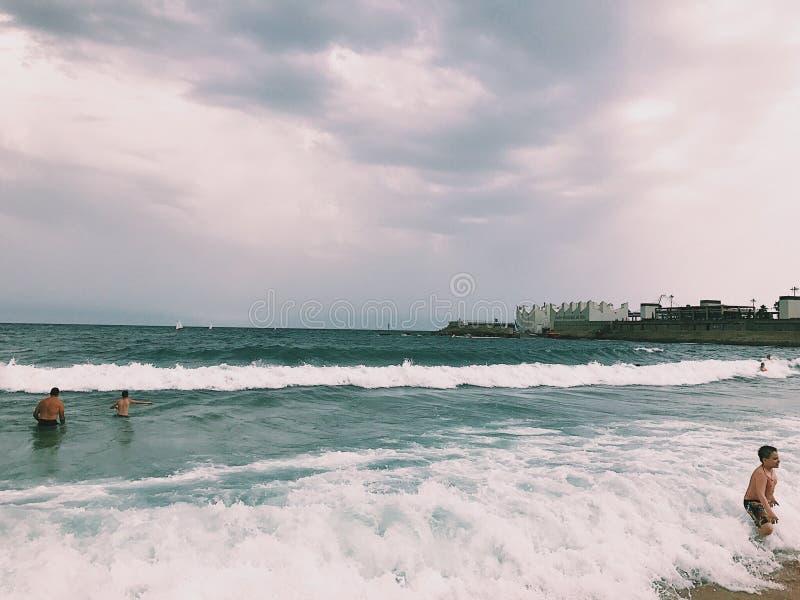 El mar fotos de archivo libres de regalías