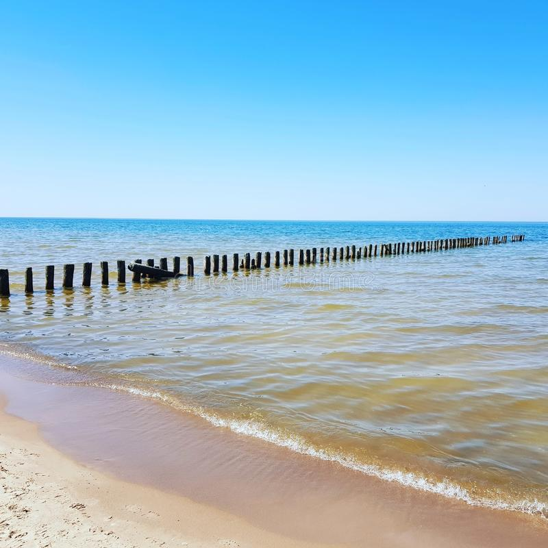 El mar Báltico foto de archivo