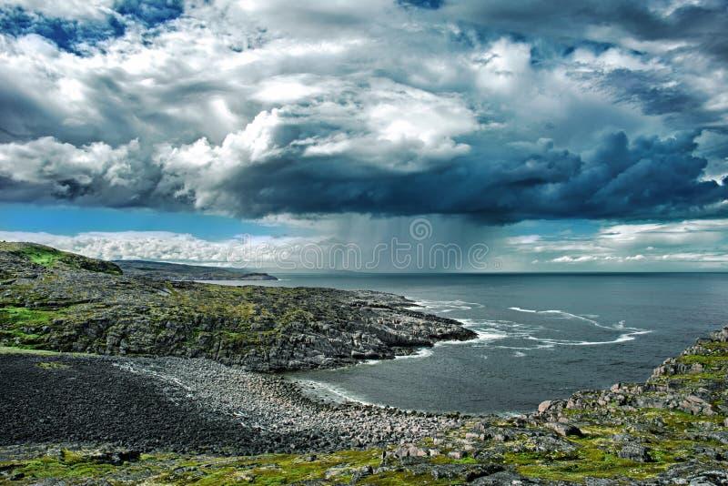 El mar de Barents fotos de archivo