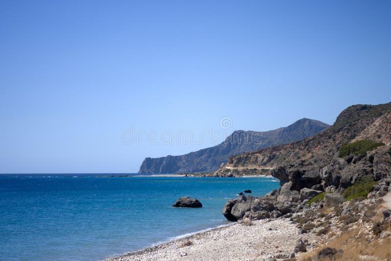 El Mar Egeo hermoso, y las islas griegas fotos de archivo libres de regalías