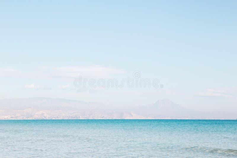 El mar en San Juan imagen de archivo