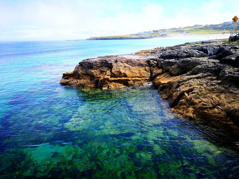 El mar hermoso fotografía de archivo libre de regalías