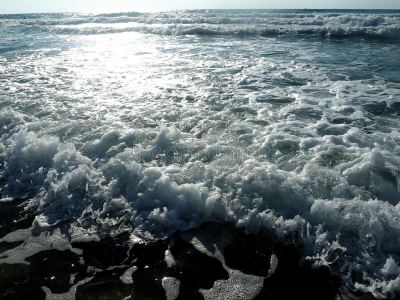 El mar Mediterráneo imagen de archivo