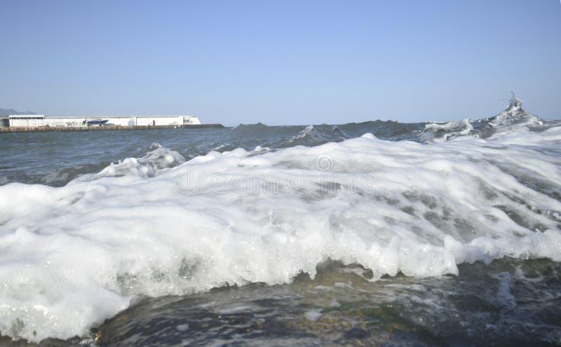 El Mar Negro fotografía de archivo libre de regalías