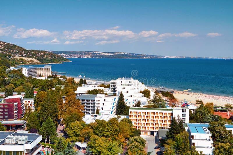 El Mar Negro Albena imagen de archivo libre de regalías