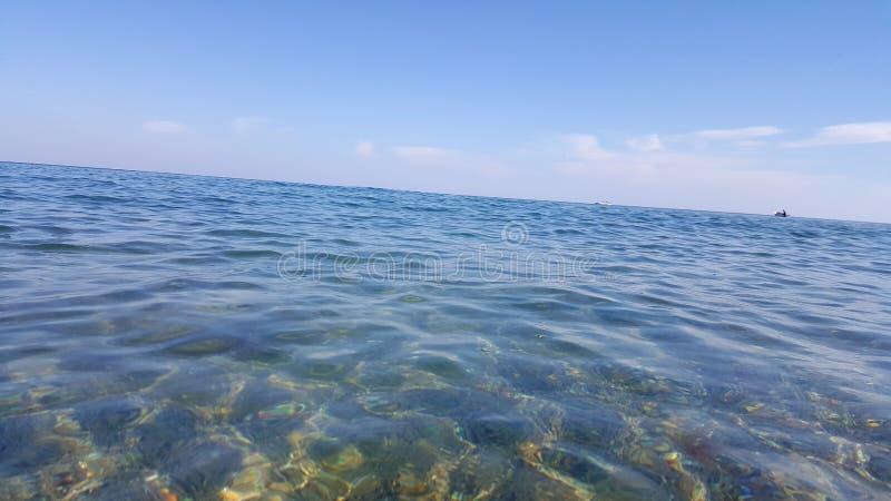El Mar Negro bulgaria foto de archivo