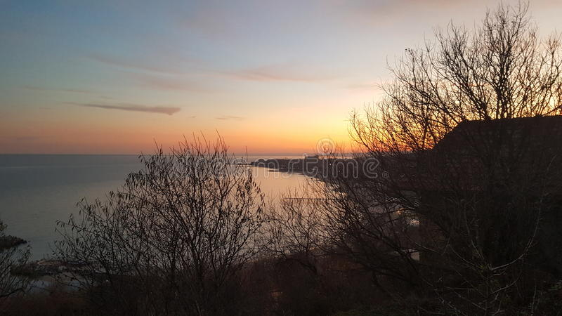 El Mar Negro bulgaria imagen de archivo