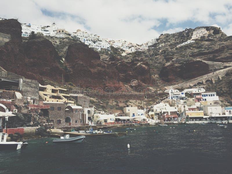 El Mar Rojo de Grecia imagen de archivo libre de regalías