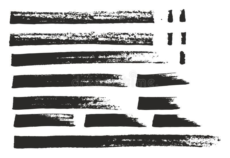 El marcador fijó 02 ilustración del vector