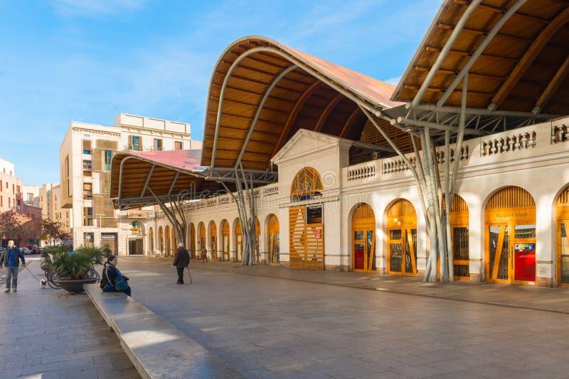 El Marcat de Santa Caterina en Barcelona, España foto de archivo libre de regalías
