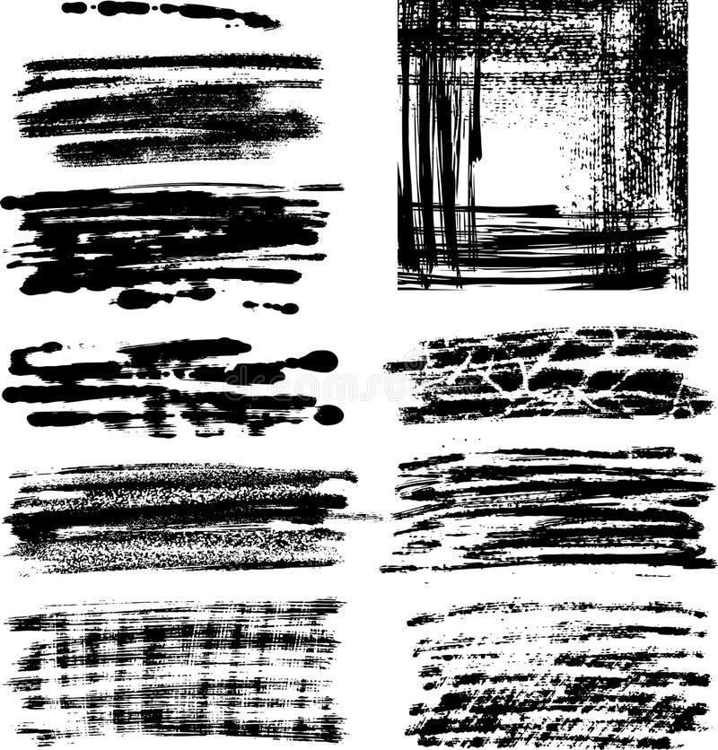 El marco de Grunge fijó II libre illustration