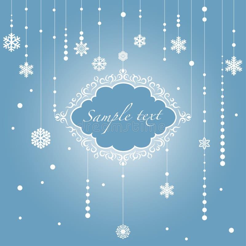 El marco de la Navidad. Ejemplo del vector libre illustration