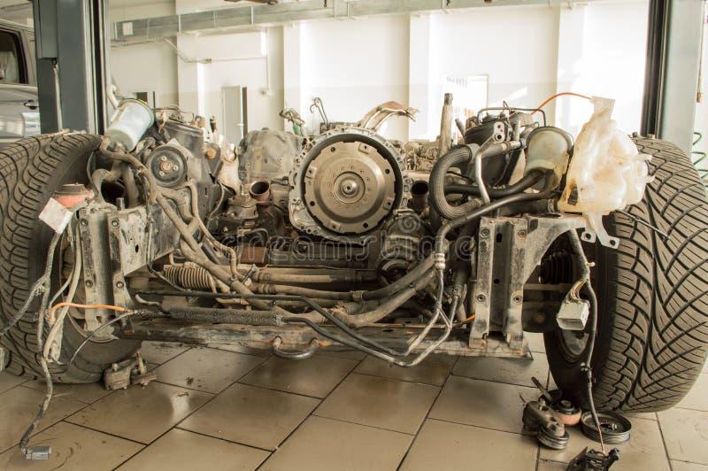 El marco del coche sin un motor libre illustration