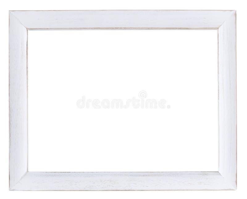 El marco vacío en un blanco pintó final elegante lamentable del ` del ` fotos de archivo libres de regalías