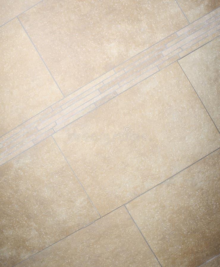 El marrón de mármol del piso teja el mosaico fotos de archivo libres de regalías