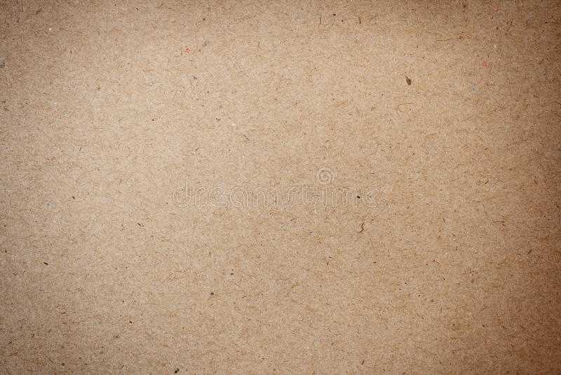 El marrón natural recicló la textura de papel imagen de archivo