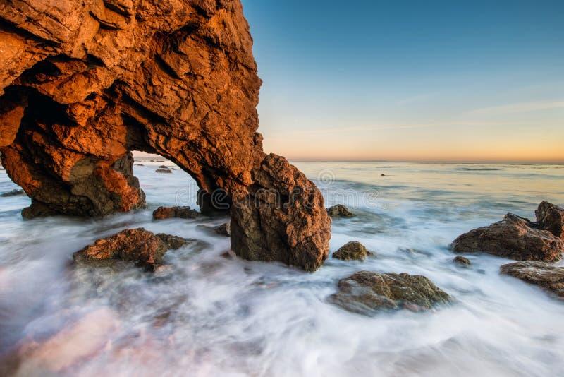El-matador Beach royaltyfria foton