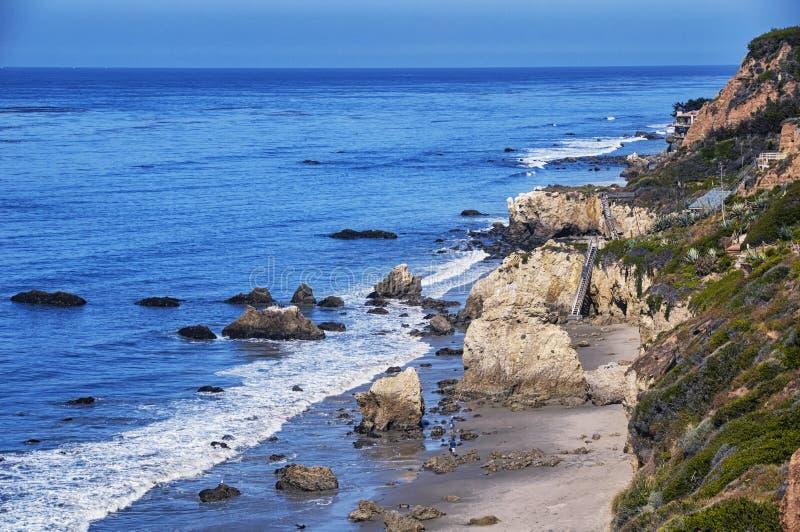 El-matador Beach California fotografering för bildbyråer