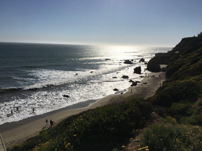 El-matador State Beach arkivbild