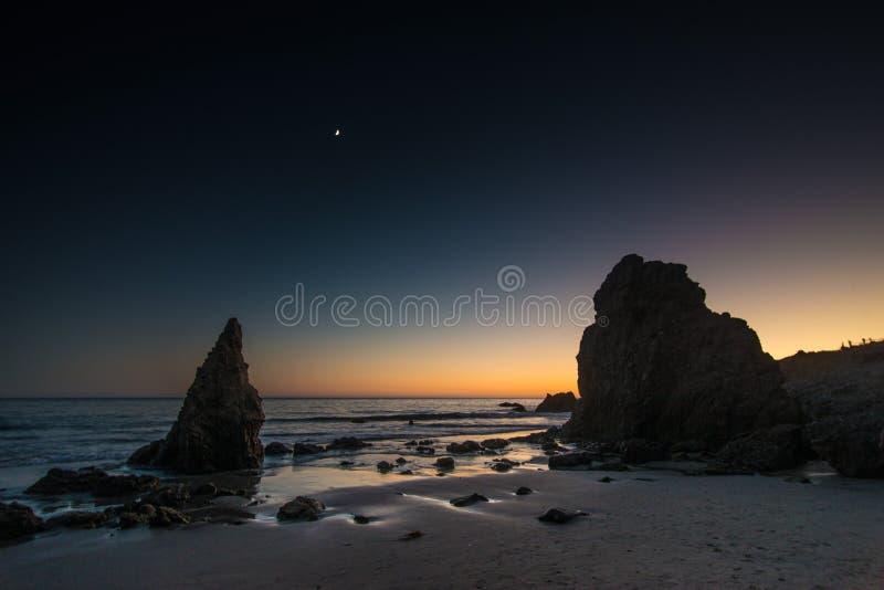 EL Matador State Beach lizenzfreies stockbild