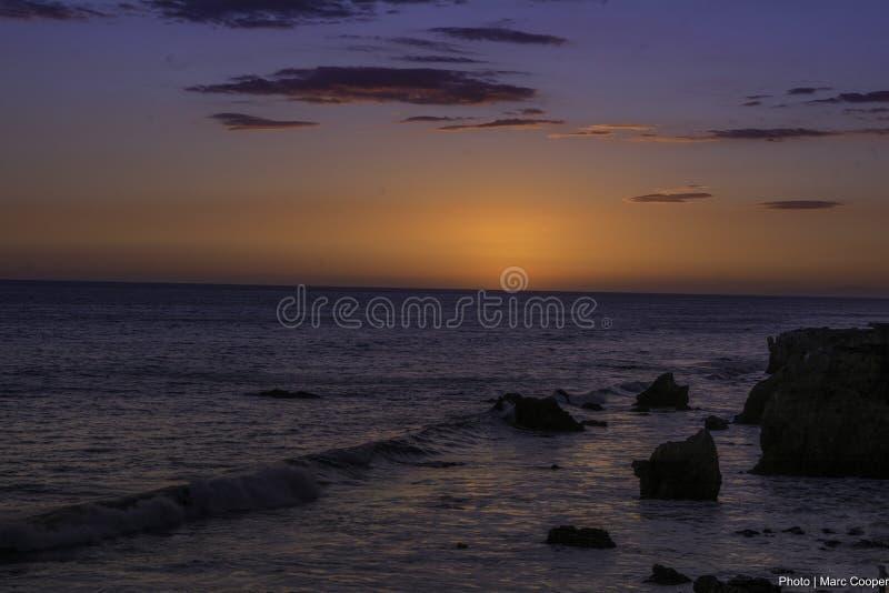 EL Matador State Beach foto de archivo