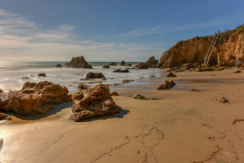 El-matador State Beach - Kalifornien royaltyfri fotografi
