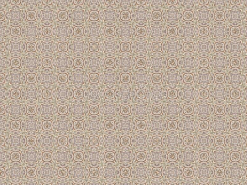 El mate del vintage de la teja texturizó el modelo abstracto geométrico marrón gris multicolor imagenes de archivo