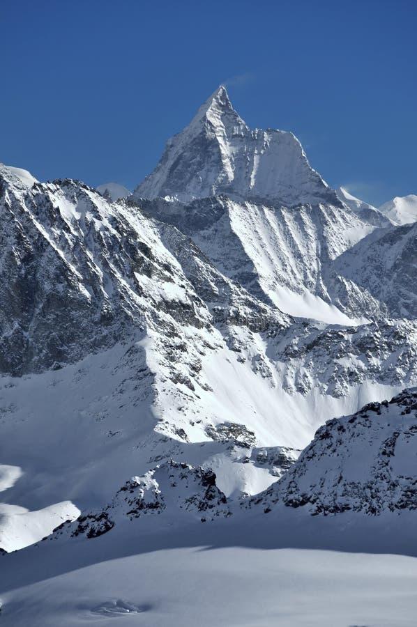 El Matterhorn foto de archivo