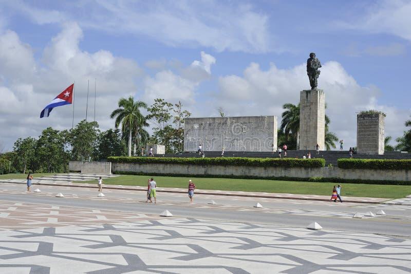 El mausoleo de Che Guevara en Santa Clara, Cuba imagen de archivo