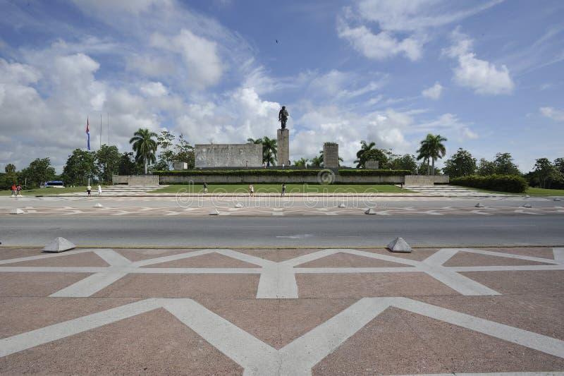 El mausoleo de Che Guevara en Santa Clara, Cuba fotografía de archivo libre de regalías