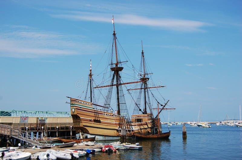 El Mayflower II imagen de archivo