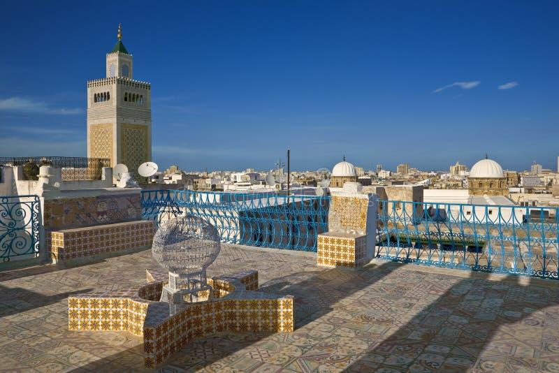 El medina de Túnez foto de archivo