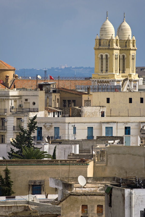 El medina de Túnez fotografía de archivo