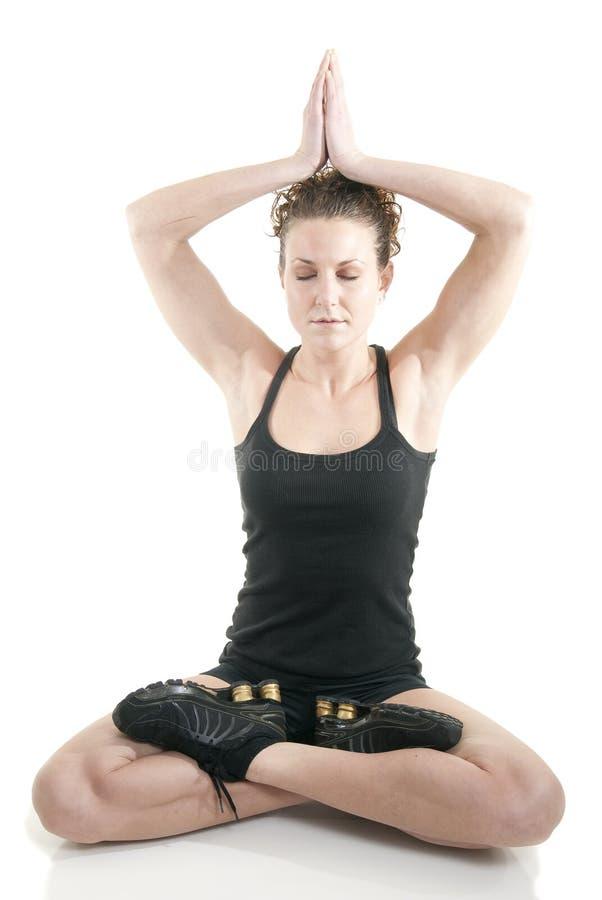 El Meditating fotos de archivo