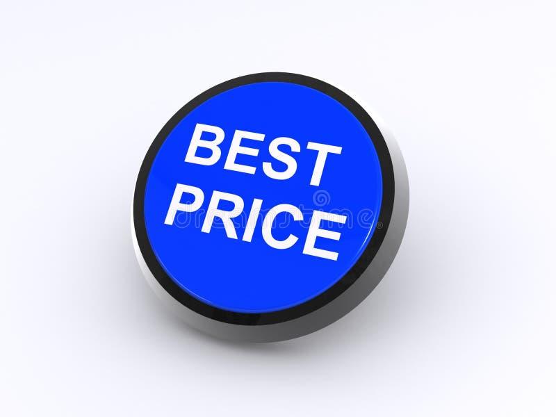 El mejor botón del precio libre illustration