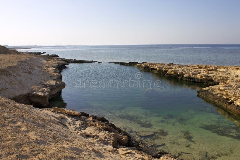 El mejor lado de la costa sur del Mar Rojo Egipto Marsa Alam fotografía de archivo