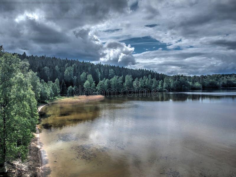 El mejor lugar en Suecia imagen de archivo