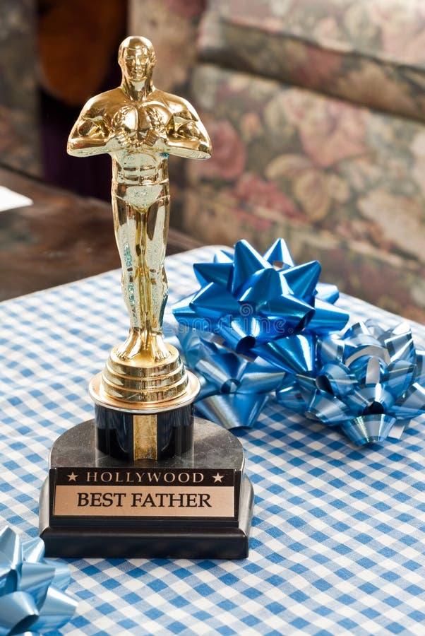El mejor papá imagen de archivo libre de regalías